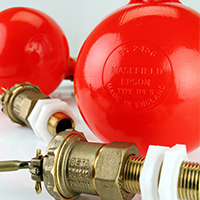 Floats, Inlet Valves and Accessories