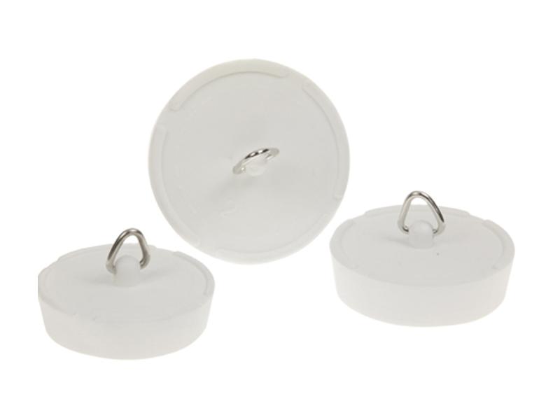 White Rubber Plugs
