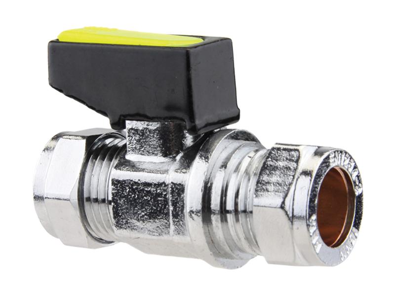 Straight Mini Gas Ball Valve