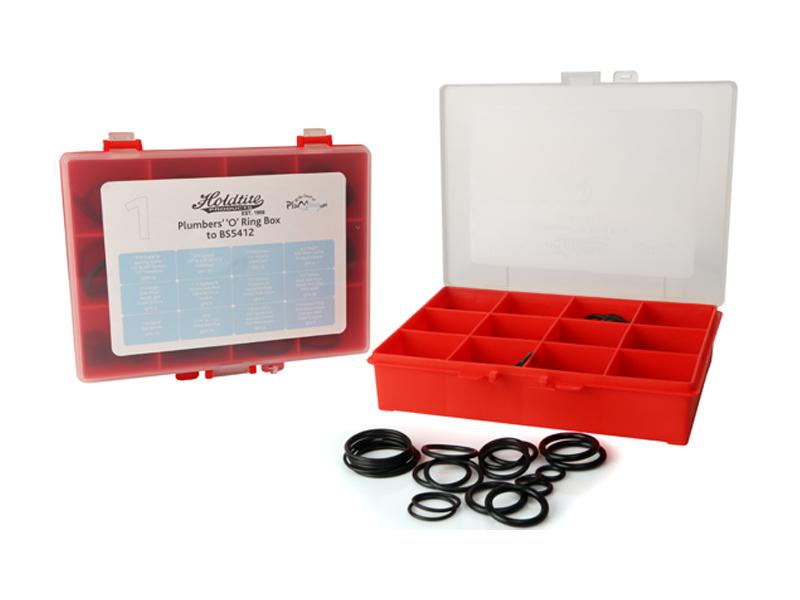 No.1 Imperial 'O' Ring Plumbers Repair Kit Box