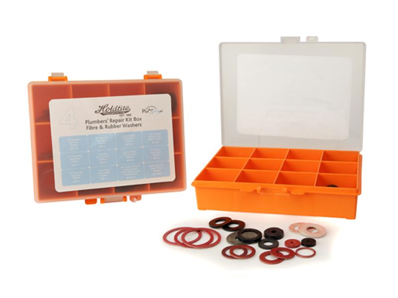 No.4 Fibre and Rubber Plumbers Repair Kit Box