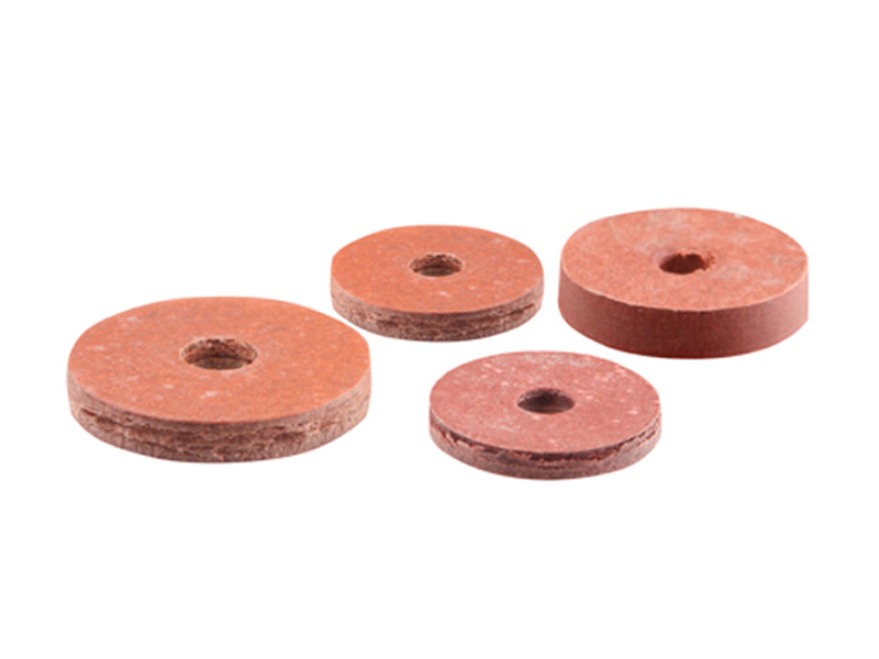 Red Fibre Flat Tap Washers