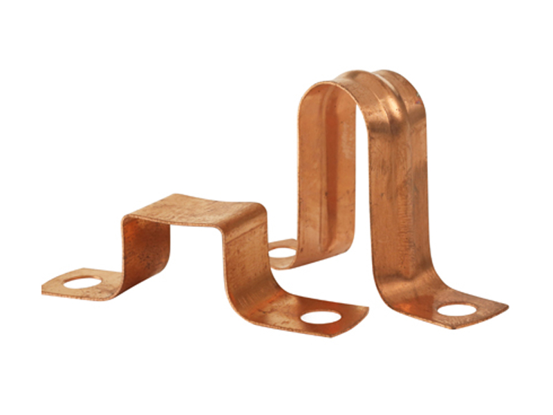 2 Piece Copper Saddle Clip