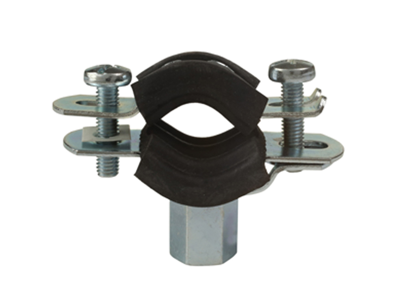 Rubber Lined Mild Steel Clips