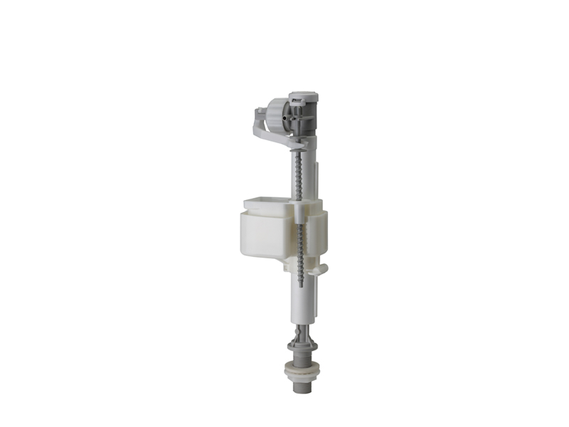 """Siamp Bottom Inlet Delayed Opening Float Valve, 1/2"""" Plastic Tail"""