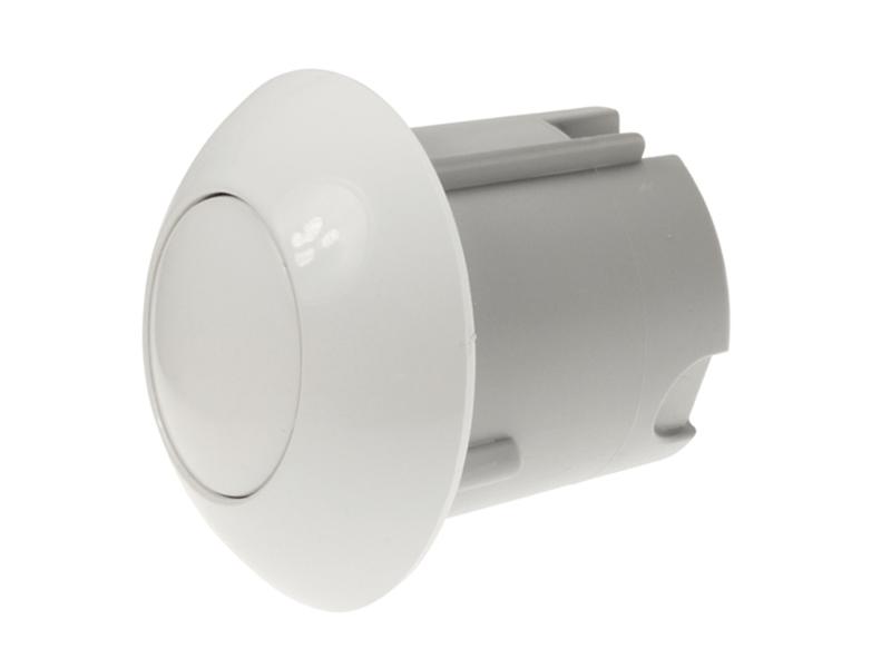Wisa White Pneumatic Push Button