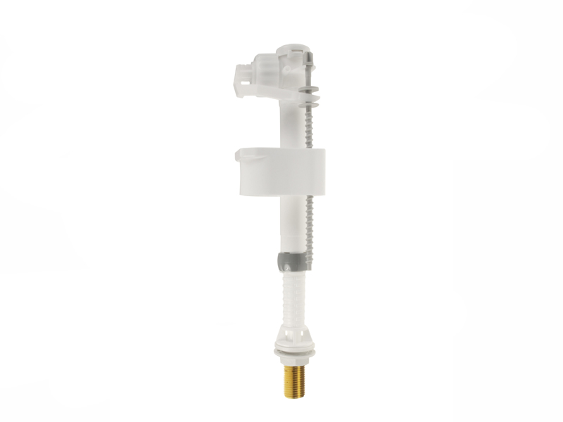 """Siamp Compact Bottom Inlet Telescopic Float Valve, 1/2"""" Brass Tail"""