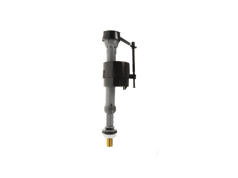 "Fluidmaster Compact Side Inlet Float Valve, 3/8"" Brass Tail"